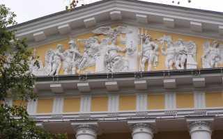 Отделка фасада и что такое фронтоны