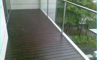 Выбор напольного покрытия для балкона: все «за» и «против»