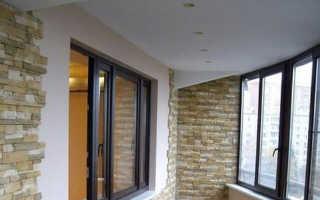 Потолок на балконе своими руками: из чего сделать