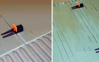 Использование системы выравнивания плитки – удобно или нет?