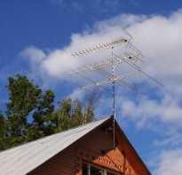 Антенны для телевизора на дачу