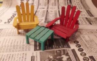 Как склеить стулья в домашних условиях