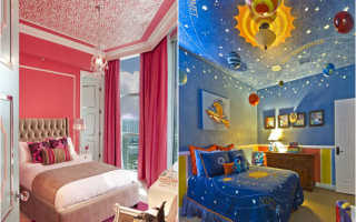 Яркие краски в интерьере детской комнаты от copper gyer design