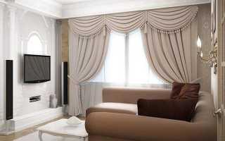 Как правильно подобрать шторы в гостиную