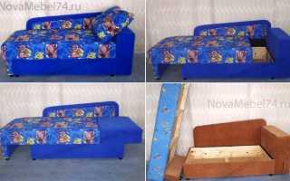 Как сделать детский диванчик своими руками