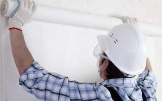 Как правильно клеить стеклообои на стены и потолок