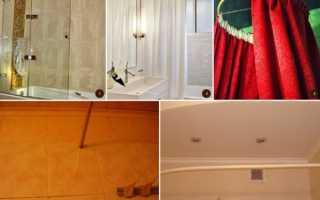 Как закрепить штангу для занавески в ванной