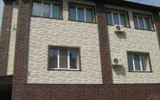 Панели фасадные под кирпич и каменную кладку