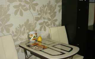 Правильная подборка обоев на кухню под дизайн: 35 фото