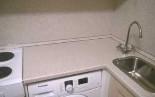 Как стыковать столешницу для кухни
