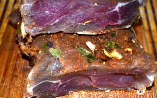 Как сделать сыровяленое мясо в домашних условиях? Вяленое мясо — лучшие рецепты приготовления деликатеса в домашних условиях