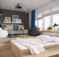 Как спрятать кровать в гостиной